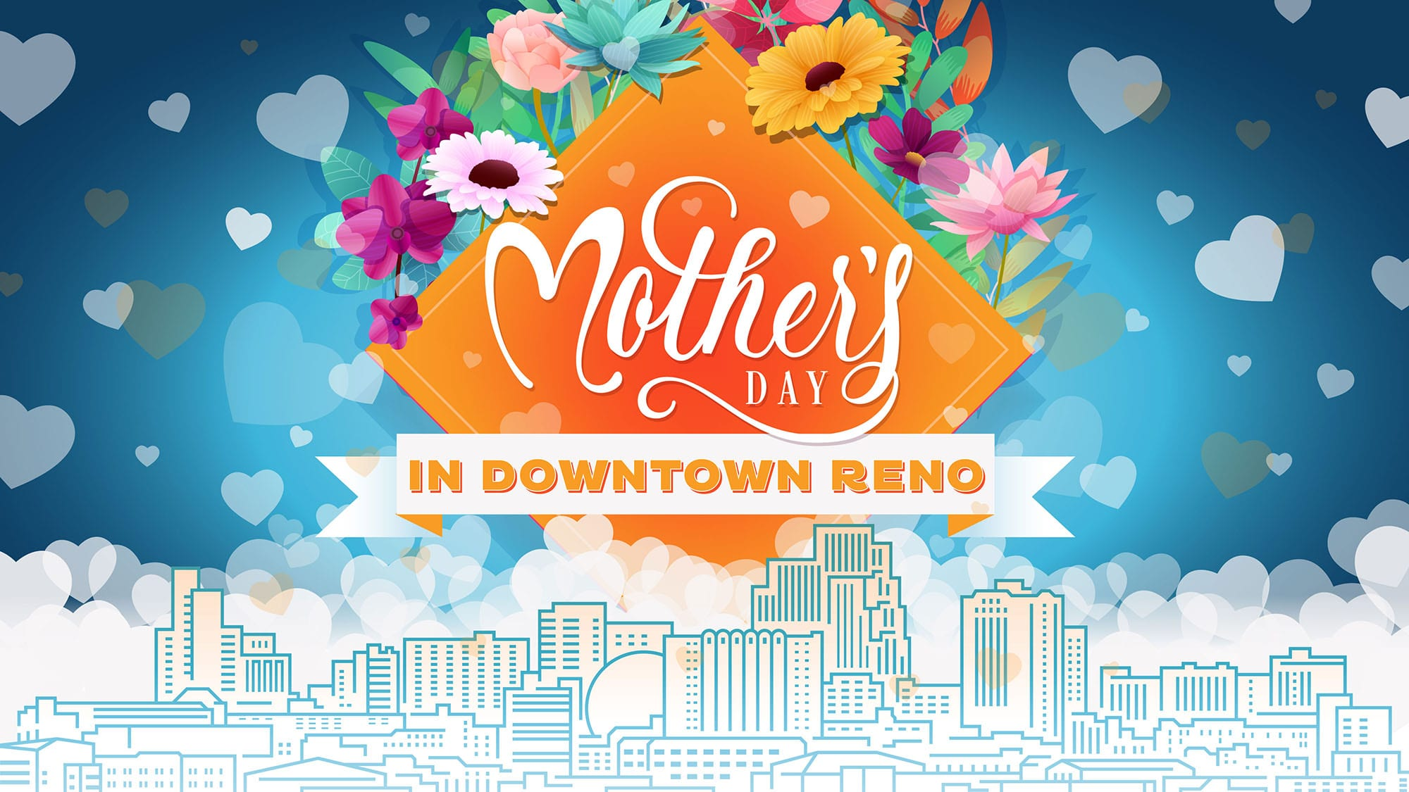 Mothers Day downtown Reno
